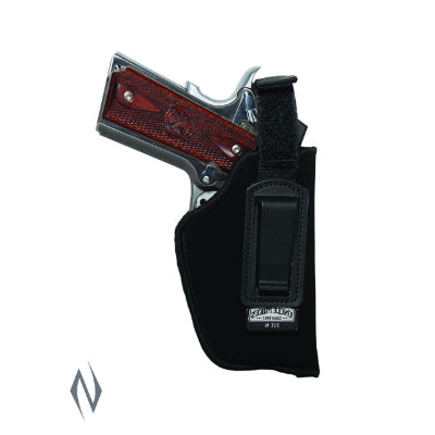 UNCLE MIKES INSIDE THE PANTS HOLSTER BLACK SIZE 16 LH - SKU: UM76162, 50-100, ebay, holsters, Shooting-Gear, uncle-mikes