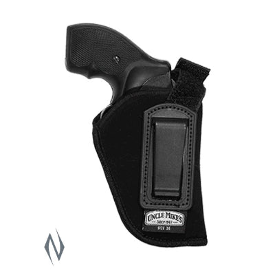 UNCLE MIKES INSIDE THE PANTS HOLSTER BLACK SIZE 36 RH - SKU: UM76361, 50-100, ebay, holsters, Shooting-Gear, uncle-mikes