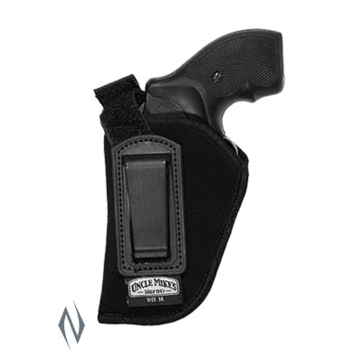 UNCLE MIKES INSIDE THE PANTS HOLSTER BLACK SIZE 36 LH - SKU: UM76362, 50-100, ebay, holsters, Shooting-Gear, uncle-mikes
