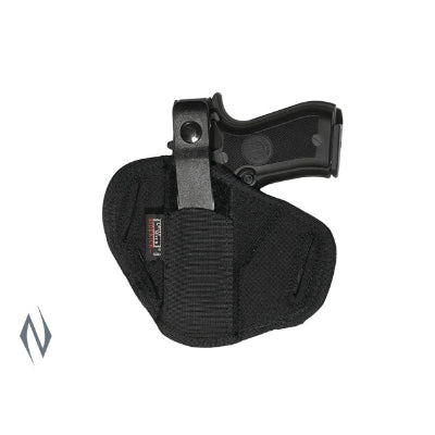 UNCLE MIKES SUPER BELT SLIDE HOLSTER BLACK SIZE 1 AMBI - SKU: UM86010, 50-100, ebay, holsters, Shooting-Gear, uncle-mikes