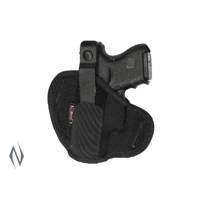 UNCLE MIKES SUPER BELT SLIDE HOLSTER BLACK SIZE 12 AMBI - SKU: UM86120, 50-100, ebay, holsters, Shooting-Gear, uncle-mikes