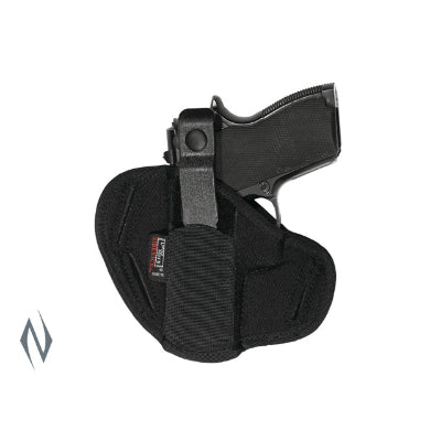 UNCLE MIKES SUPER BELT SLIDE HOLSTER BLACK SIZE 16 AMBI - SKU: UM86160, 50-100, ebay, holsters, Shooting-Gear, uncle-mikes