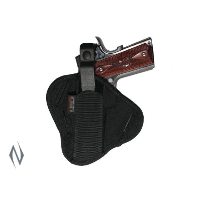 UNCLE MIKES SUPER BELT SLIDE HOLSTER BLACK SIZE 19 AMBI - SKU: UM86190, 50-100, ebay, holsters, Shooting-Gear, uncle-mikes