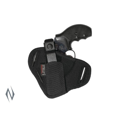 UNCLE MIKES SUPER BELT SLIDE HOLSTER BLACK SIZE 36 AMBI - SKU: UM86360, 50-100, ebay, holsters, Shooting-Gear, uncle-mikes