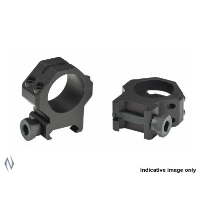 WEAVER TACTICAL RINGS 4 HOLE 1 inch HIGH MATTE - SKU: W48361, 50-100, ebay, Optics, Scope-Rings, scope-rings-1inch, weaver