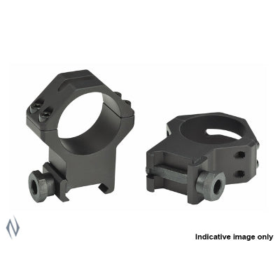 WEAVER TACTICAL RINGS 4 HOLE 30MM HIGH MATTE - SKU: W48366, 50-100, ebay, Optics, Scope-Rings, scope-rings-30mm, weaver