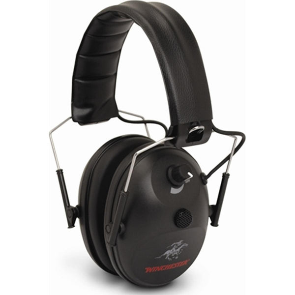 Winchester Electronic Hearing Muff - SKU: WCH-1MEM, 50-100, Amazon, earmuffs-ear-plugs, ebay, Shooting-Gear, winchester