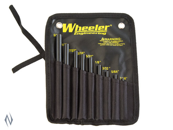 WHEELER ROLL PIN STARTER SET - SKU: WH-RPSS, 50-100, ebay, Gunsmithing-Supplies, gunsmithing-tools, wheeler