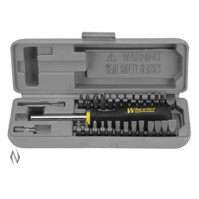 WHEELER SCREWDRIVER SET SPACESAVER 26 PCE - SKU: WH-SSSS, ebay, Gunsmithing-Supplies, screw-drivers-wrenches, under-50, wheeler