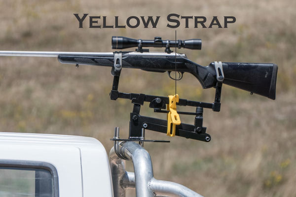 Smart Rest - Yellow Strap - SKU:SRYRS, amazon, ebay, Shooting-Gear, shooting-rests-bags, smart-rest, under-50