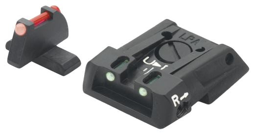 LPA SIGHTS - Adj. F/O Sight Set H&K P30, P45 - SKU: LPASPF01HK