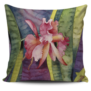 Mary Russell Botanical Art - Pink Orchid