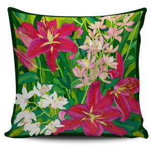 Carissa Luminess Botanical Art - Lily Love