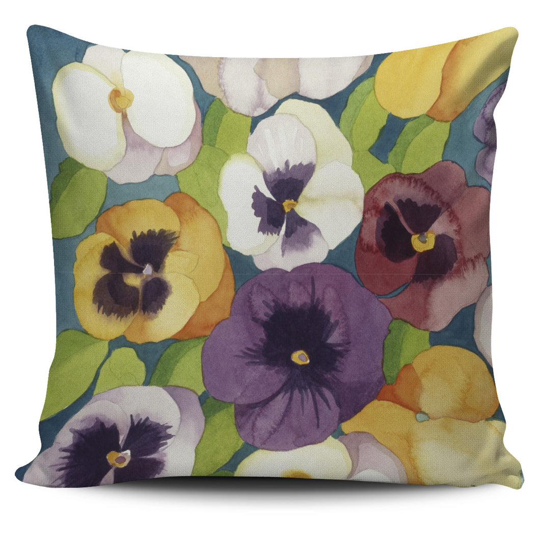 Mary Russell Botanical Art - Summer Pansies