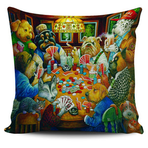Bill Bell Dogs Art - Poker Club