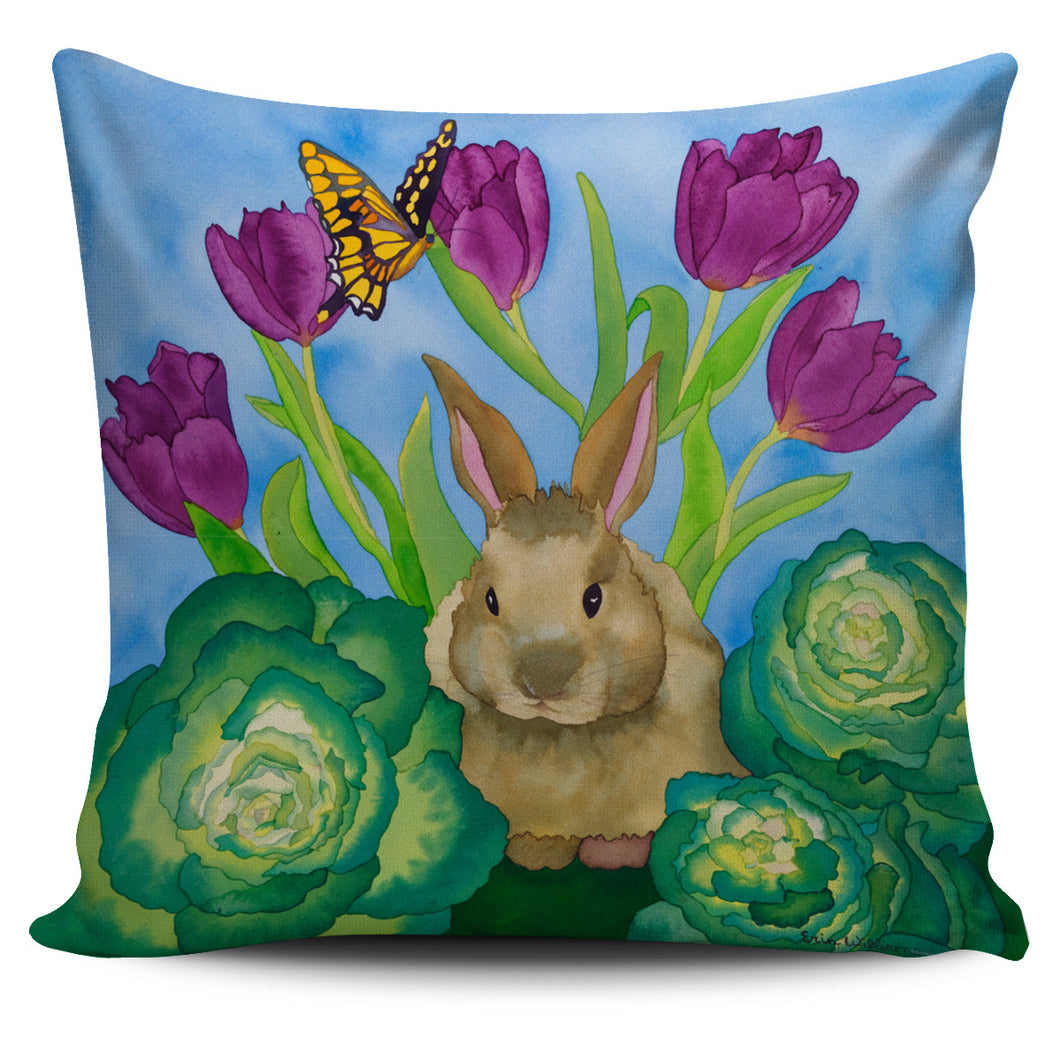 Carissa Luminess Wildlife and Flowers - Bunny with Cabbage