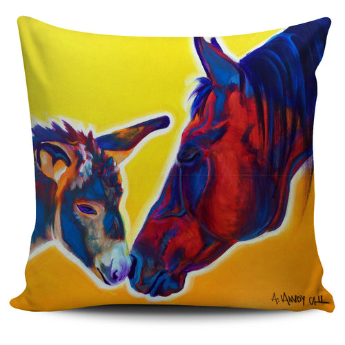 Animal Images from Dawg Art - Horse with Little Sister