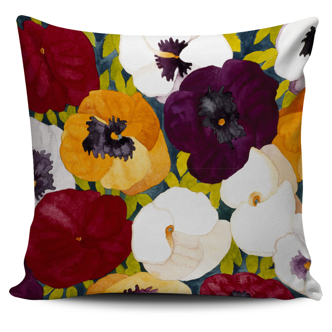 Mary Russell Botanical Art - Sacred Pansies