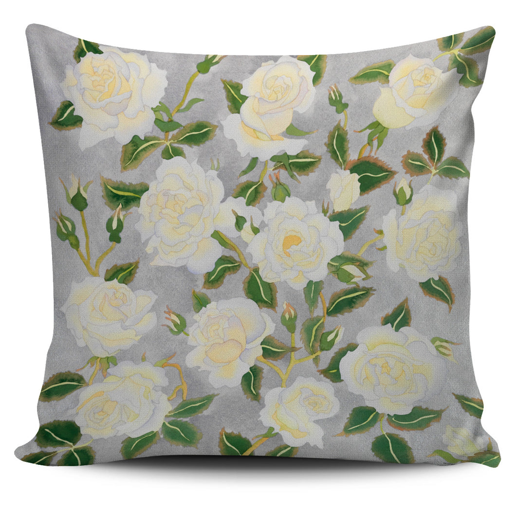Carissa Luminess Botanical Art - White Roses