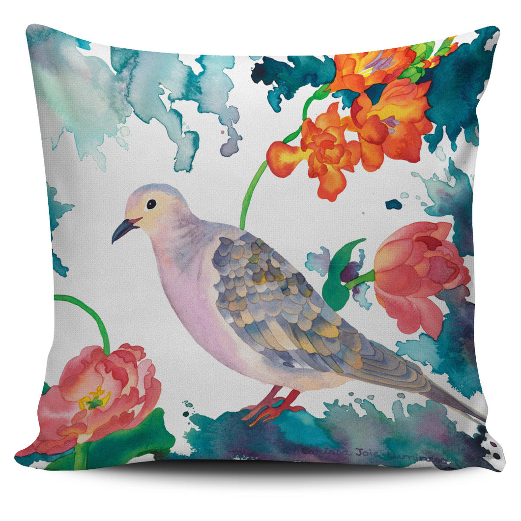 Carissa Luminess Wildlife and Flowers - Peace Dove