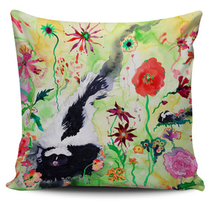 Carissa Luminess Wildlife and Flowers - Skunk