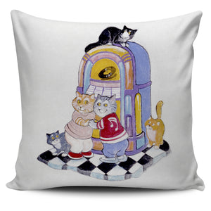 Bill Bell Cats Art - 50's Cats