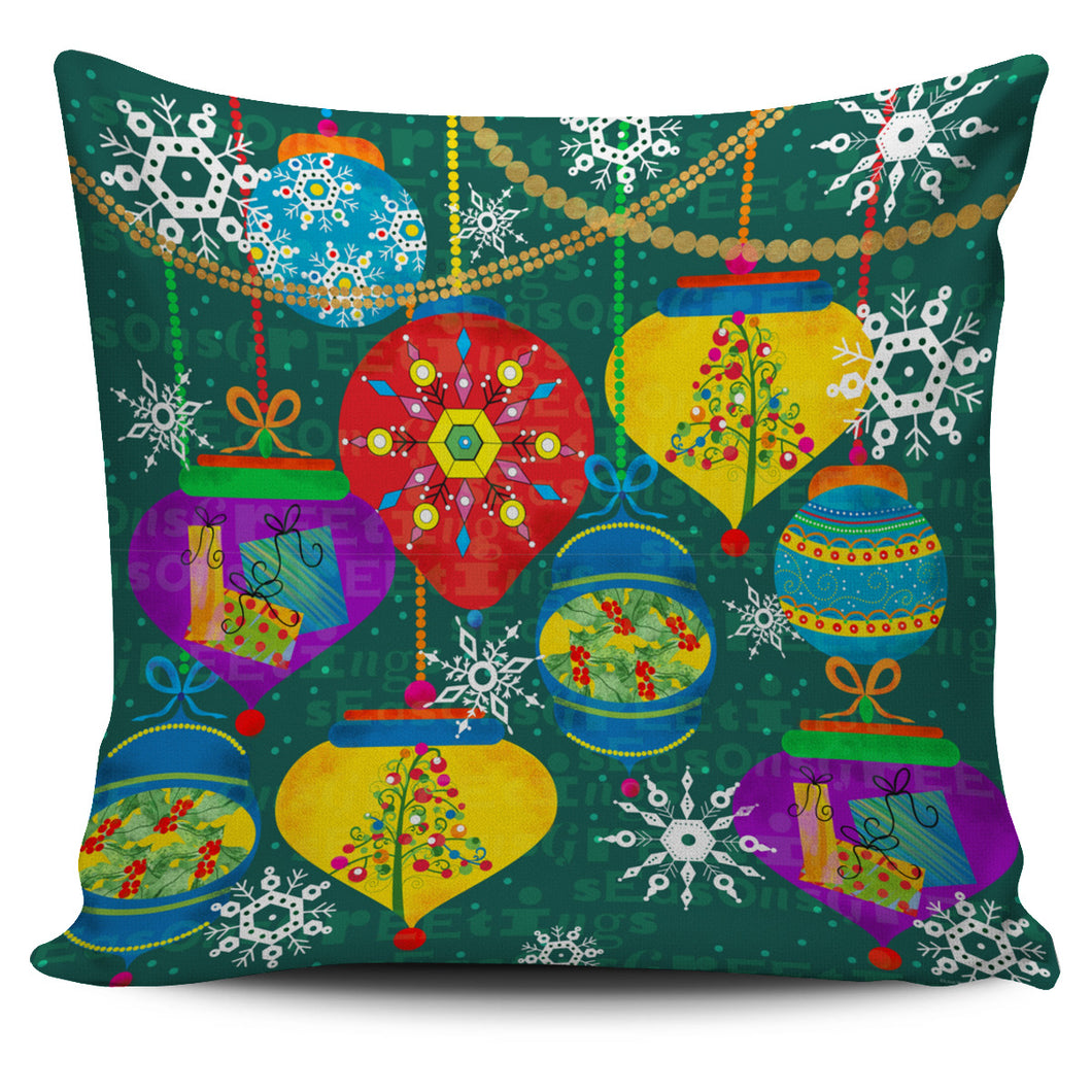 Lisa Powel Braun Christmas Art - Xmas Balls