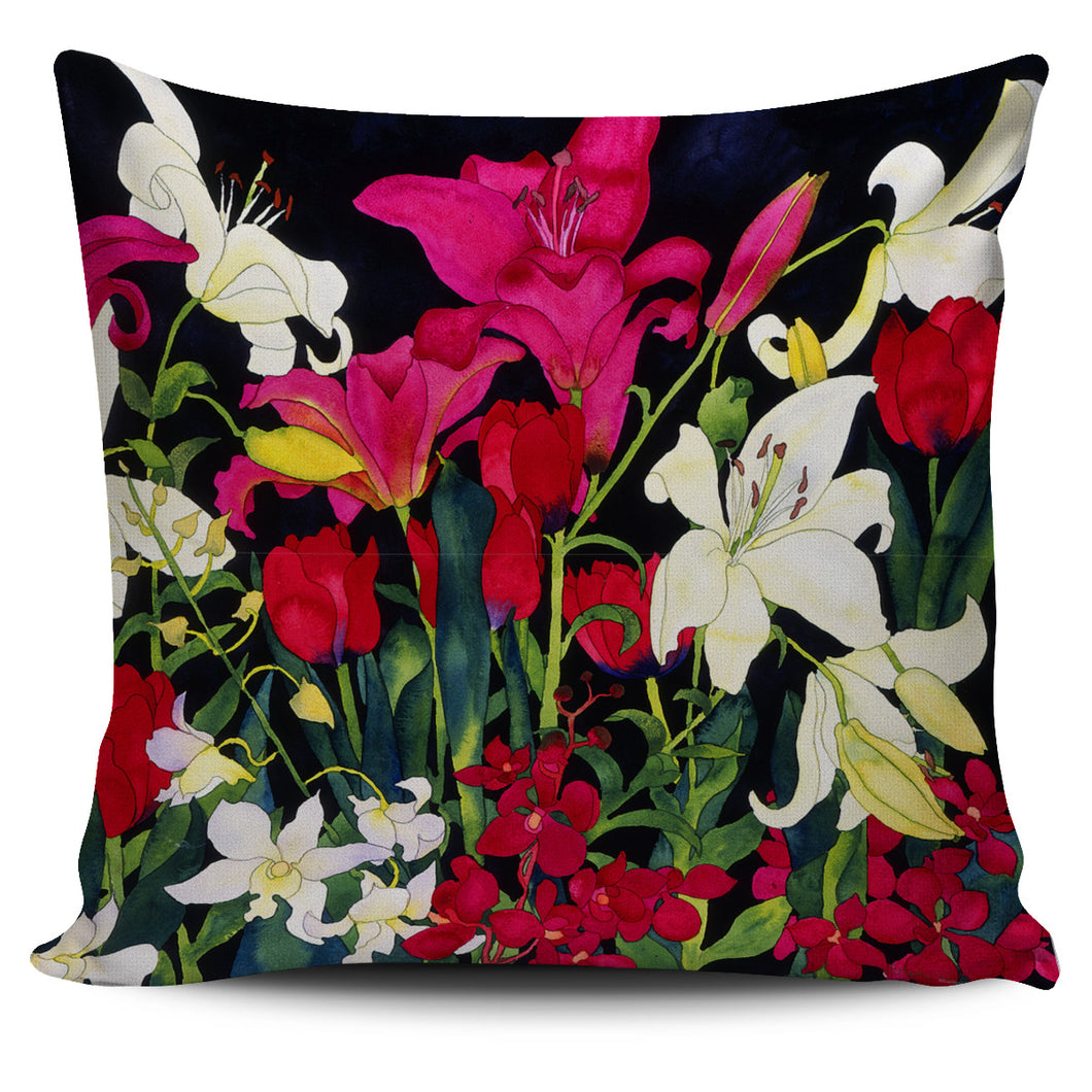 Carissa Luminess Botanical Art - Luscious Lillies