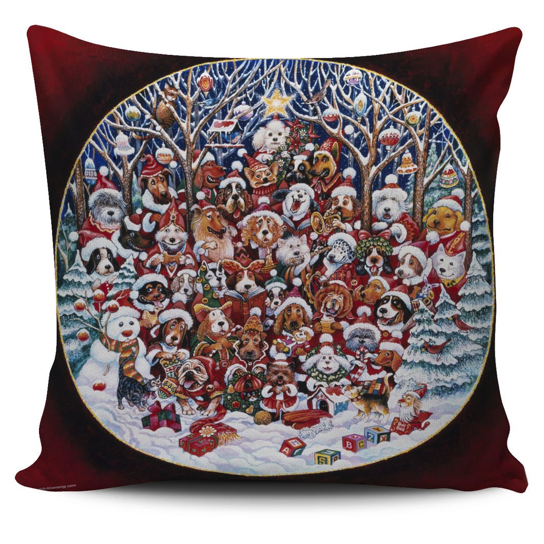 Bill Bell Christmas & Holiday Art - Santa Paws 1