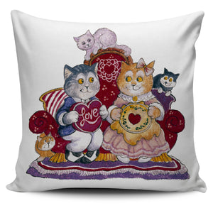 Bill Bell Valentines Art - Valentine Cats
