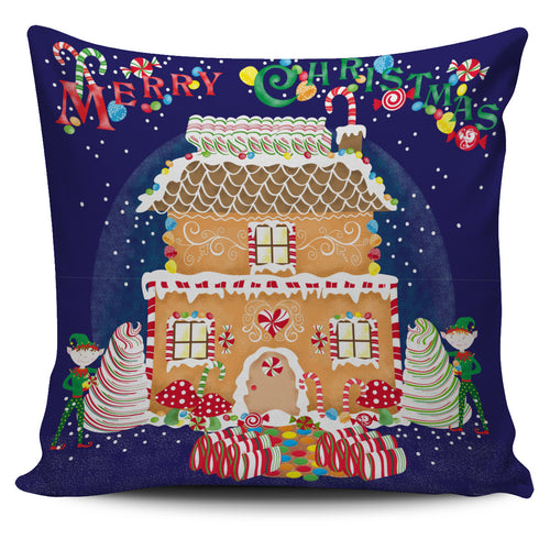 Lisa Powel Braun Christmas Art - Xmas Gingerbread House