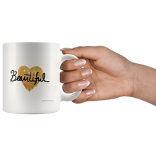 Beautiful on Heart Ceramic Mug
