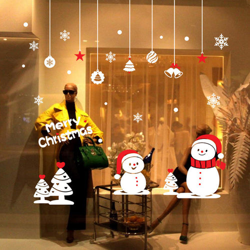 Christmas Decorations Wall & Window Stickers