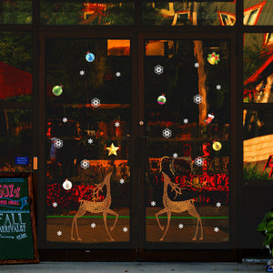 Holiday Window and Wall Decorative Stickers
