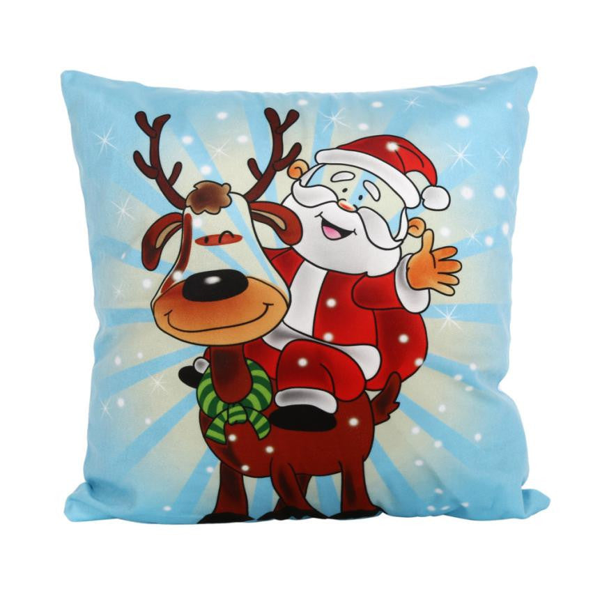 Christmas Theme Throw Pillow Cover $5 Special