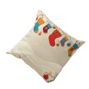 Christmas Stockings Throw Pillow Cover $5 Special