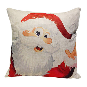 Santa Clause Throw Pillow Cover