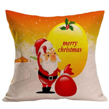 Christmas Tree Decorative Throw Pillow Cover