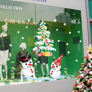 Christmas Decoration Wall and Window Stickers