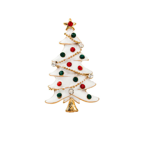 Christmas Tree Brooch Jewelry