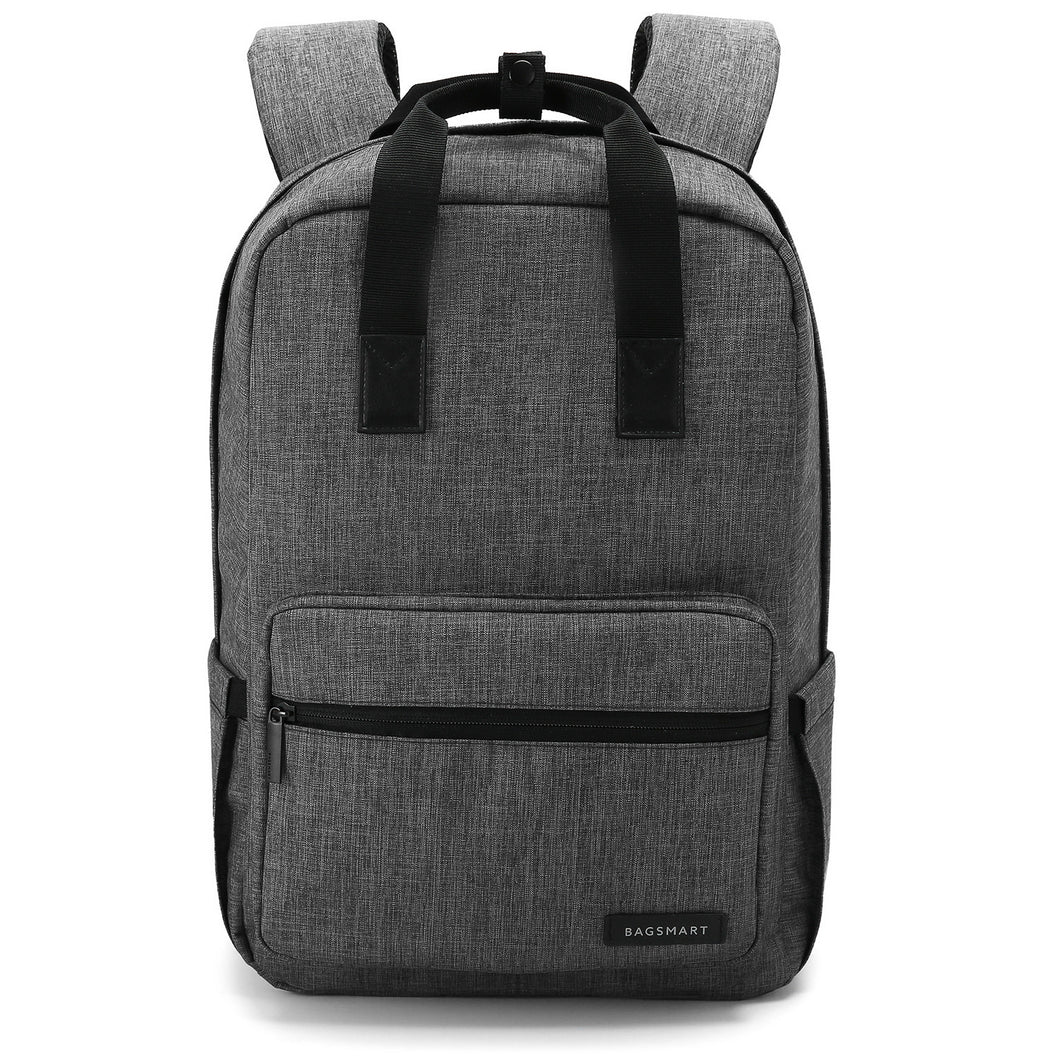 BAGSMART Water Resistant Laptop Backpack Fits 14-Inch Laptop