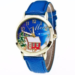 GENVIVIA Luxury Brand Christmas Fashion Women's Analog Quartz Watch