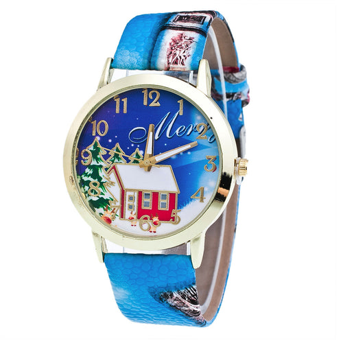 Christmas Pattern Analog Quartz Watches