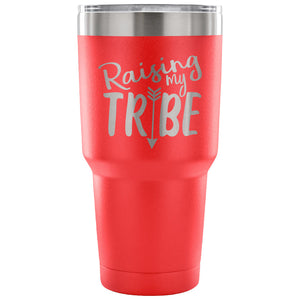 Raising my Tribe 30 oz Tumbler - Travel Cup, Coffee Mug