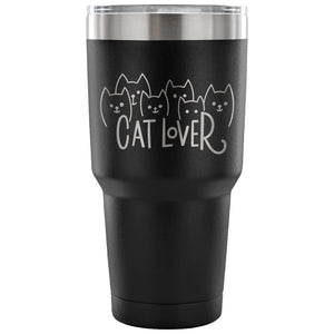Cat Lover 30 oz Tumbler - Travel Cup, Coffee Mug