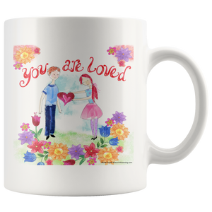 You Are Loved Ceramic Mug