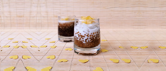 Coconut Syrup Sago Pudding