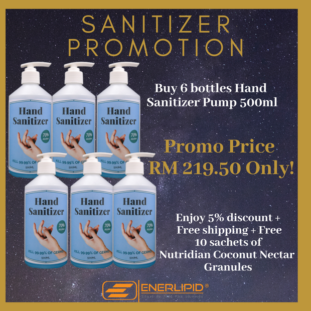 HAND SANITIZER PROMOTION