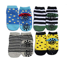 Baby Grip Socks and Kneepads - Non Slip Grip Socks for Kids