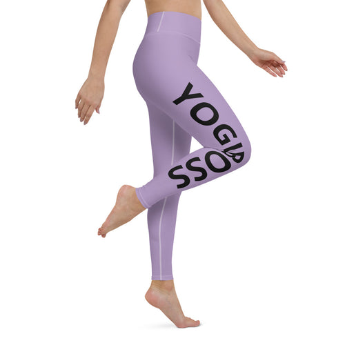 YogiBoss Purple Leggings